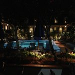 Pool at night...so serene!