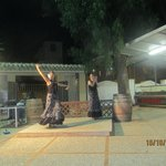 Outdoor Flamenca Dancing at Orihuela Costa