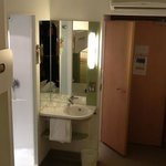No locks on toilet and shower doors Ibis Budget Cardiff.