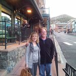 My cousin and I outside casino in Black Hawk, CO