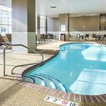 Indoor pool and two spas