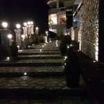 Night entrance in Hotel