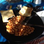 Great brekkie and what a treat to get beans on toast in Asia!