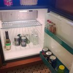 Their full minibar