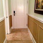 Room door & tile flooring  (Room 114)