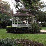 Pretty gazebo in the garden.