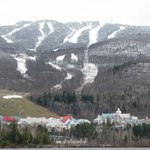 View of Mont Tremblant from Chemin du Village