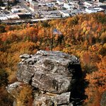 Overlook the City of Norton - Flag Rock