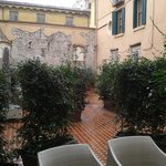 Hotel Accademia Courtyard Room View