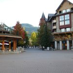 Whistler Village Stroll, literally a minute or two away