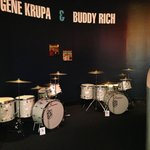 Buddy Rich and Gene Krupa drums
