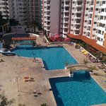 View from 5th Floor of Pool