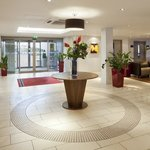 Hotel lobby at Holiday Inn Express Northampton