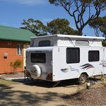 صورة فوتوغرافية لـ ‪BIG4 Moruya Heads Easts Dolphin Beach Holiday Park‬
