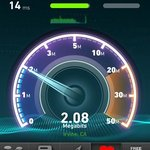wifi speed 2 megabits p sec