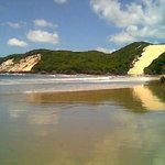 Morro do Careca, visto do hotel.
