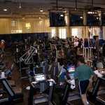 'Off Site' gym everything you expect in a upscale gym.