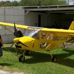 Microlight plane option, for the adventurous!