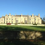 The stunning Rushton Hall