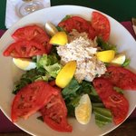 Tuna Salad platter, the special on Fridays.