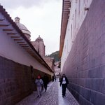 The Inca alley next to our hotel