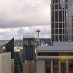 View of Seattle from room