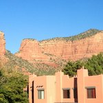 Beautiful red rock views from the rooms