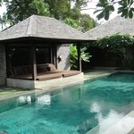 Private pool in the 4BR Presidential Villa