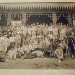 Old picture inside Mena House, Cairo, May 2013
