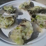Jolly Baked oysters (recommended!)