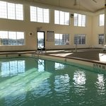 The indoor pool and hot tub are perfect for relaxing or having fun!