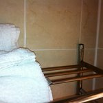 Rusty towel rail