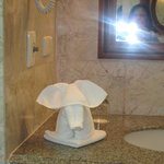 bathroom elephant towel