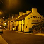 Nancy's Bar at night