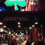 The Celtic Pub just round the corner from M&Ms
