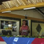 New beach bar at Cayo Blanco