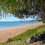 Directly across the road from the best beach in Hervey Bay