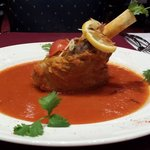 famous chef special lamb shank