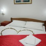 Romantic room decoration, Motel Deny in Mostar
