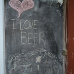 The chalkboard wall for kids of all ages