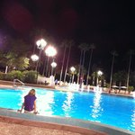 quiet pool @ nite
