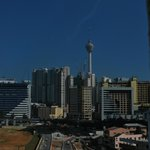 View from bed room, city of KL, and KL Tower