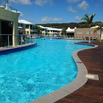 Oaks Pacific Blue Resort Salamander Bay Foto