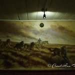 Mick Cawston mural - back room