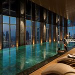 FLARE Spa Pool with Evening View