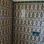 Mexican tiles in tub/shower were lovely.