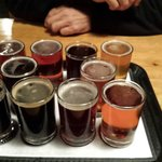 Try a little of each. A sampler of 10. All of yhe beers on tap. Then pick your favorite for a gr