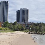 Currumbin Sands on the Beach Foto