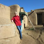Trudy recommended  we see the Taos Pueblo.  Lots of great art and crafts