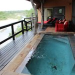 Pool & View of Sabi River